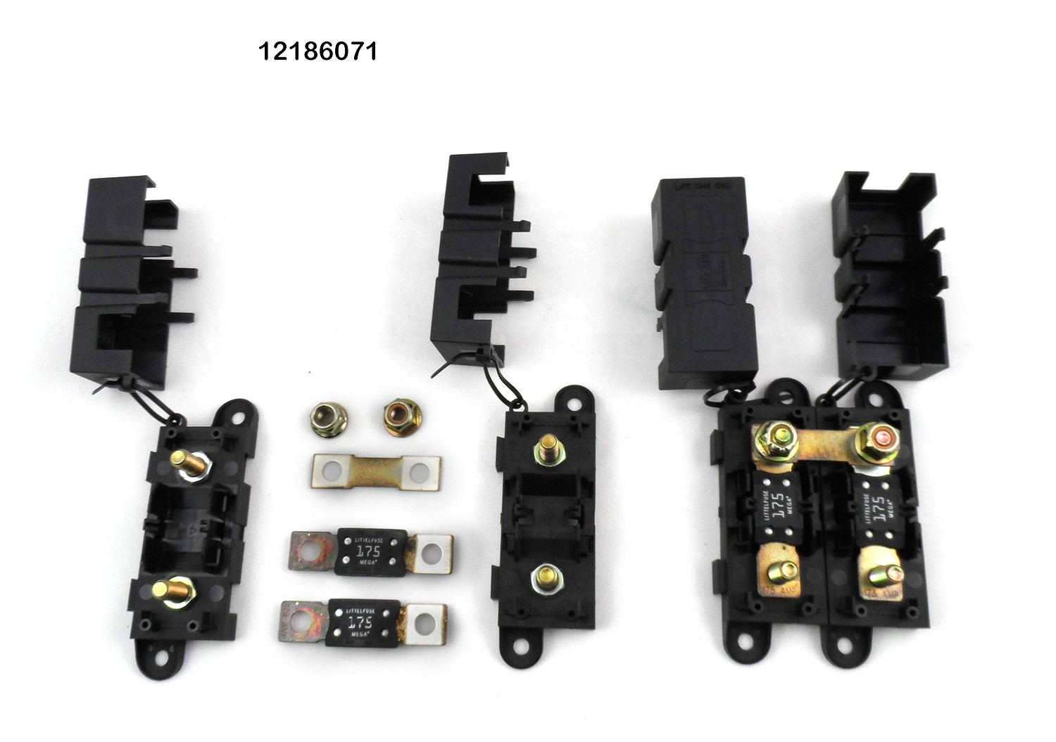 two positive battery cable fuse junction blocks for 96 98. Black Bedroom Furniture Sets. Home Design Ideas