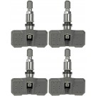 Four Sensor Tire Pressure Monitors Fits 05-14 Chrysler Dodge 05-16 Jeep