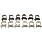 Fuel Injector Hose Clamps - Range 9/16 To 5/8 In. (14 To 16mm) - Dorman# 55172