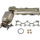 Right Exhaust Manifold Kit w/ Converter & Hardware Dorman 674-617 USA Made
