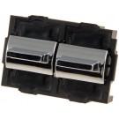 Front Left Power Door Window Switch (Dorman 901-003) 2 Button w/o Trim Plate