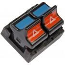 Front Left Power Door Window Switch (Dorman 901-305) 2 Button, 6 Prong