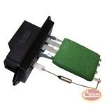 Blower Motor Resistor - Crown# 5072145AA