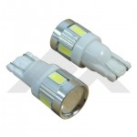 2 White LED Plasma Bulbs (194) - Crown# RT28063