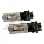 2 Red LED Plasma Bulbs (3157) - Crown# RT28066