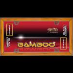 "One New Bamboo/Black Chrome ""Bamboo"" License Plate Frame - Cruiser# 58000"