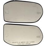 Driver & Passenger Side Door Mirror Glass (Dorman #56362 & #56363)