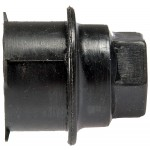 Black Wheel Nut Cover M24-2.0, Hex 19mm - Dorman# 611-618