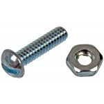 Stove Bolt With Nuts - 3/16-24 In. x 1/2 In./3/4 In. - Dorman# 784-600