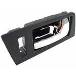 New Interior Door Handle - Front Right - Black+Chrome - Dorman 81773