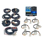 Wolo Lightning Plus 6 Outlet Light Strobe Kit Red 6 Flash Patterns, 120 Watts